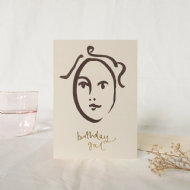 Wanderlust Paper Co. 'Birthday Gal' Card
